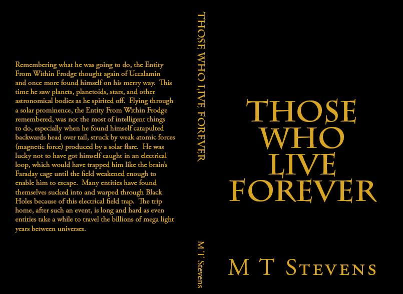 Those Who Live Forever Paperback Edition from Amazon.com